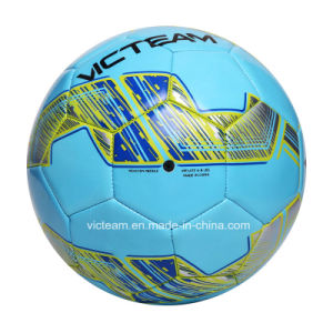 Abrasion-Resistant Custom Printed Logo Soccer Ball pictures & photos