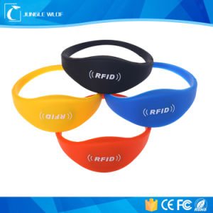 Wholesale Eco-Friendly 125kHz Silicone RFID Wristband for Access Control pictures & photos