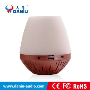 2016 Hot Selling Wireless Bluetooth Speaker with Color LED pictures & photos