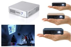Yi-200 Short Throw Portable DLP LED Projector Miracast Airplay Wireless Display HDMI Home Use Mini Projector pictures & photos