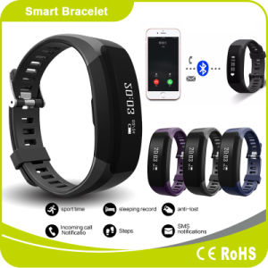 Professional Pedometer Bracelet Manufacturers Touch Screen Fitbit Bluetooth Bracelet pictures & photos