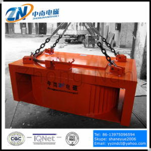 Manual-Discharging Rectangular Magnetic Separator for Conveyor Belt Mc23-150110L pictures & photos