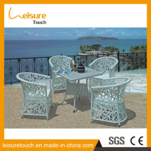 Best Selling Rattan Furniture Space Saving Wicker Dining Table pictures & photos