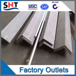 SUS 304/304L High Quality Stainless Steel Angle pictures & photos