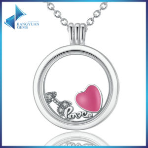 925 Sterling Silver Sterling Silver Pendants Floating Locket Necklaces pictures & photos