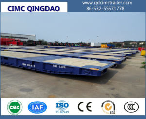 Cimc 20FT 40FT 45FT 62FT Port Use Roll Trailer Truck Chassis pictures & photos