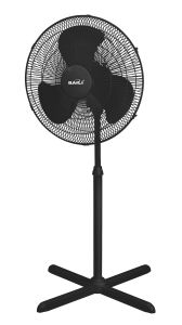 "Powerful 18"" Oscillating Stand Fan with Cross Base, 1.3m Height pictures & photos"