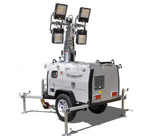 Trailer Mounted Lighting Towers for Sale pictures & photos