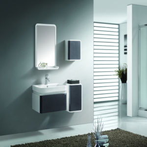 Solid Wood and Plywood Wall Hung Bathroom Furniture