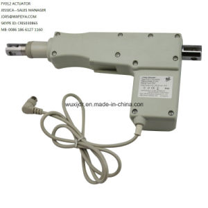 12V DC Motor with Linear Actuator 100mm Stroke Mechanical Parts Linear Actuator for Electric Furniture Linear Actuator Foot Control pictures & photos