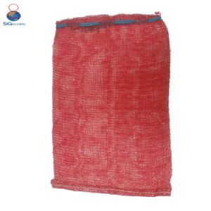 50*80cm Red Raschel Mesh Bag pictures & photos