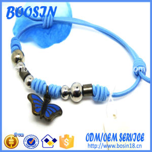 Romantic China Style Adjustable Waxed Cotton Cord Knot Bracelet 3954 pictures & photos