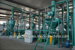 Xinda Automatic Waste Tire Recycling Rubber Powder Plant pictures & photos