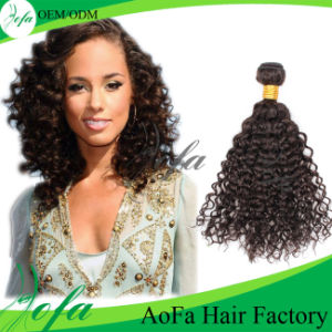 Large Stock Curly Multiple Brazilian Virgin Human Hair Extension pictures & photos