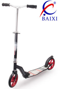 Foot Scooter for Adults with 145mm PU Wheel (BX-2MBD145) pictures & photos