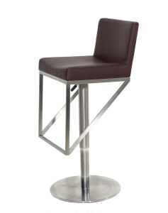 Gas Lift Stainless Steel Bar Stool Design pictures & photos