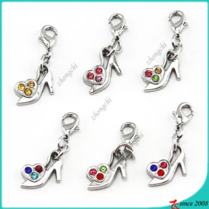 Silver High Heel Pendant Jewelry (SPE)