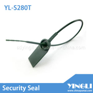 Laser Printed Plastic Seal with Barcode and Serial Number (YL-S281T) pictures & photos