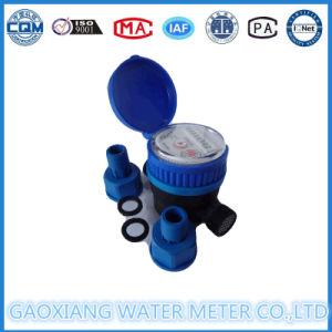 Plastic Nylon Single Jet Water Flow Meter Dn15mm (1/2′′) pictures & photos