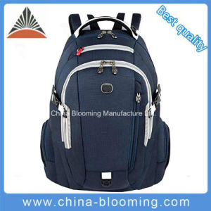 Leisure Travel Daypack Polyester Laptop Computer Bag Sports Backpack pictures & photos
