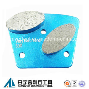 Ellipse Shape Segment Diamond Grinding Plate Trapezoid Plate pictures & photos