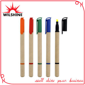 Recycled Paper Pen with Highlighter for Promotion (EP0418) pictures & photos