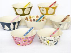 Bamboo Fiber Tableware Printed Bowl (BC-BP1002) pictures & photos