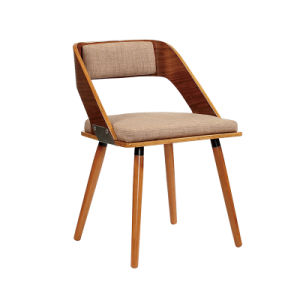Coffee Dining Restaurant Wooden and Fabric Wishbone Bar Chairs (FS-WB1030-2) pictures & photos