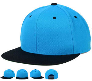 Blank Plain Custom Embroidery Two Tone Basketball Snapback Hat pictures & photos