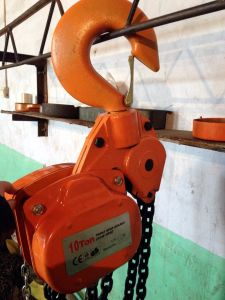 Hevy Duty 10ton Vital Type Hand Chain Block pictures & photos