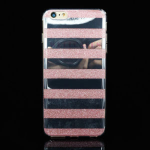Painting Zebra Line Powder IMD Cellphone/Mobile Cover/Case for iPhone 5/6/6p