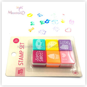 6 Pack Plastic Self Inking Stamps Toy for Kids pictures & photos