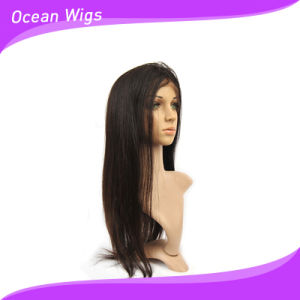"""100% Human Brazilian Virgin Remy 20"""" Straight Front Lace Wig pictures & photos"""