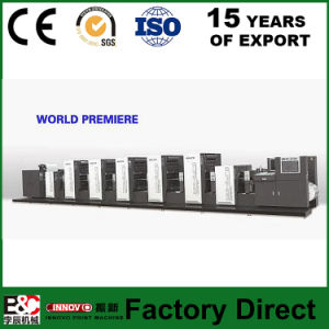 Wjps660 Shaftless Offset Intermittent Rotary Label Printing Machine pictures & photos