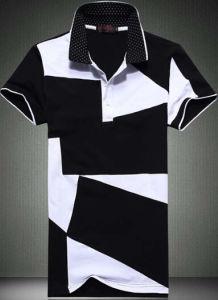 Wholesale Men′s Fashion Cotton Striped Polo T-Shirt pictures & photos