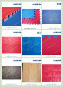 Double Color EVA Taekwondo Interlocking Mat, Reversible EVA Jigsaw Mat pictures & photos