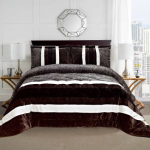 Classic Luxury Patchwork Quilt Bedding Set (NA1423-10)