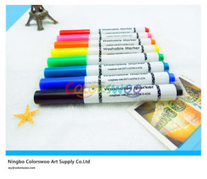 6PCS Jumbo Fiber Tip Water Color Pen for Kids and Students pictures & photos