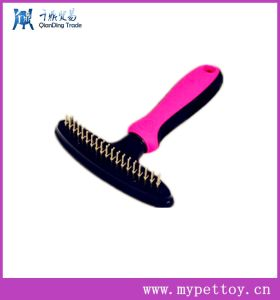 New Style Large Size Double Row Elastic Head Rake Comb pictures & photos