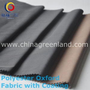 100%Polyester Oxford Memory Coating Fabric for Garment Textile (GLLNJFPP001) pictures & photos
