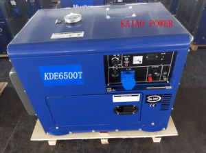 AC Single Phase 50Hz/4.2kw Silent Diesel Generator for Shop and Home Use pictures & photos