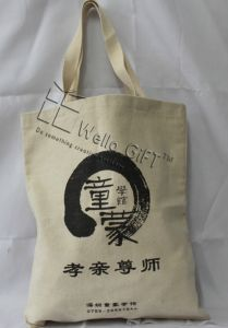 Custom Cotton Printed Bag with Handles pictures & photos
