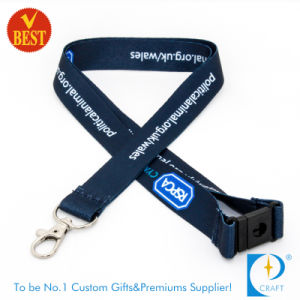Customized Logo Heat Transfer Printed Lanyard at Low Price pictures & photos