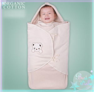 Natural Organic Cotton Sleeping Bag with Envelop Design pictures & photos