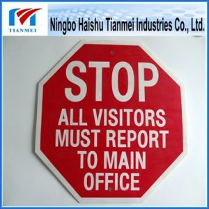 TM-09 Plastic Caution Sign, Customized Printing Text Sign pictures & photos
