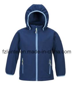 Kid′s Coat Winter Unisex Softshell Jacket pictures & photos