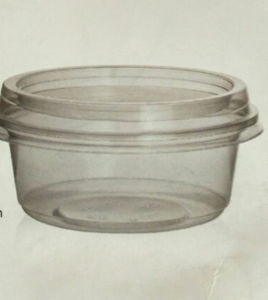 360ml Disposable Takeaway Plastic Lunch Packing Container
