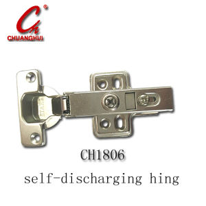 High Quality Self-Discharging Metal Slide on Cabinet Hinge for Furniture (CH1806) pictures & photos