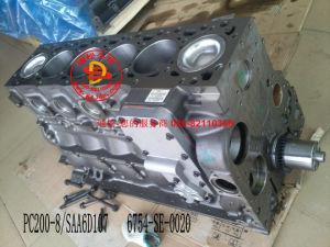 Komatsu Excavator PC200-8/SAA6d107 Cylinder Block pictures & photos