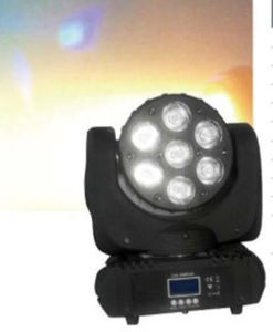 7PCS 15W LED Stage Beam Wash Moving Head
